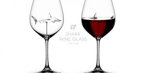 shark wine glass copyright