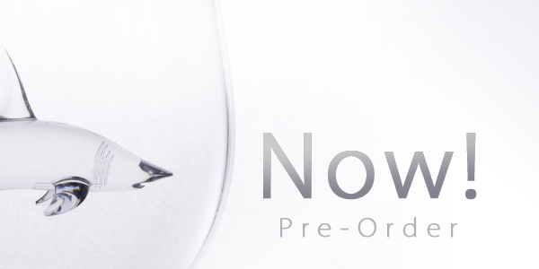 Shark wine glass pre-order now
